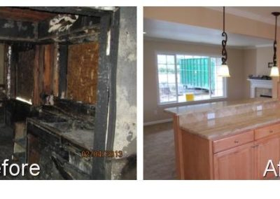 Fire Damage Kitchen Cornerstone Disaster Repair